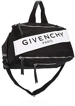 25e45504d86 Givenchy Men's Pandora Logo Duffel Bag