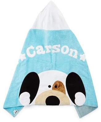 Boogie Baby Peek-A-Boo Hooded Towel, Blue
