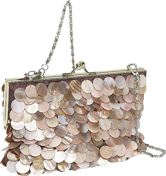Global Elements Disco Shell Evening Bag