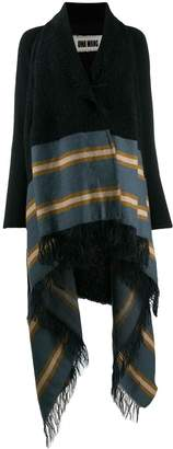 UMA WANG oversized stripe cardigan