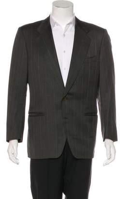 Canali Striped Wool Blazer