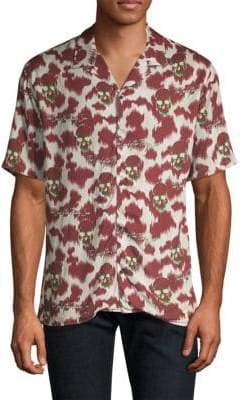 The Kooples Skull Print Shirt