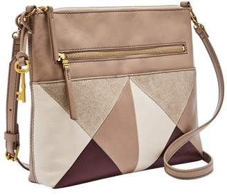 Fossil Fiona Crossbody Handbag Champagne