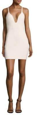 ara Deep V-Neck Mini Dress