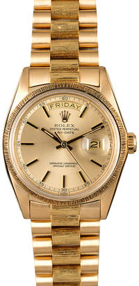 Rolex Bob's Watches Yellow-Gold Day Date 1807 Watch