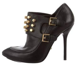Gucci Studded Leather Booties