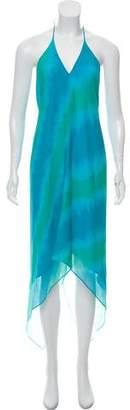 Ramy Brook Printed Silk Dress w/ Tags