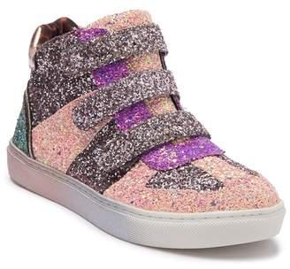 Steve Madden Ladate Glitter High-Top Sneaker (Little Kid & Big Kid)