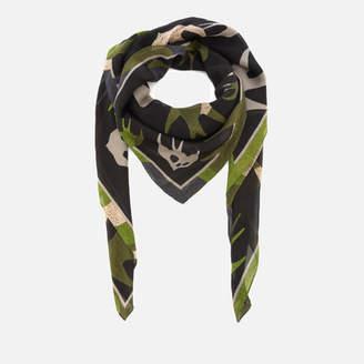 McQ Women's Swallow Swarm Scarf - Camouflage