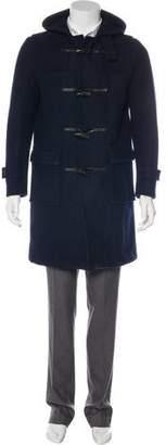 MACKINTOSH Wool Hooded Overcoat