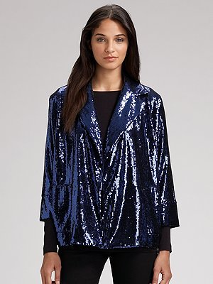 Diane von Furstenberg Sequined Jacket