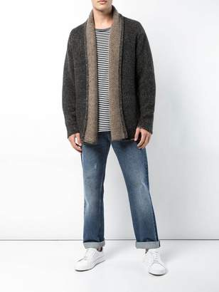 The Elder Statesman Long-sleeve fitted cardigan