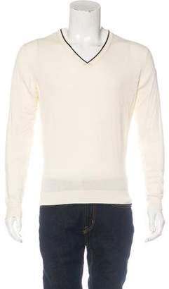 Moncler Maglione Tricot Scollo V-Neck Sweater