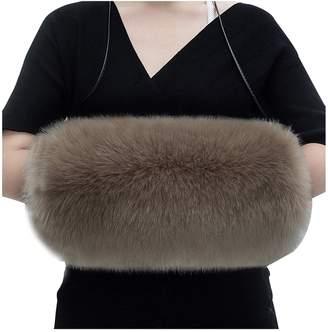 Tidbag Women Faux Fur Hand Muff Warm Hand Muffs For Wedding
