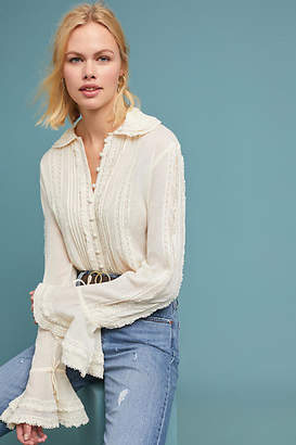 Stella Forest Blaire Bell-Sleeved Blouse