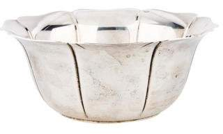 Tiffany & Co. Sterling Silver Lobed Bowl