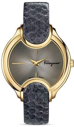 Salvatore Ferragamo Icon Watch, 38mm $1,495 thestylecure.com