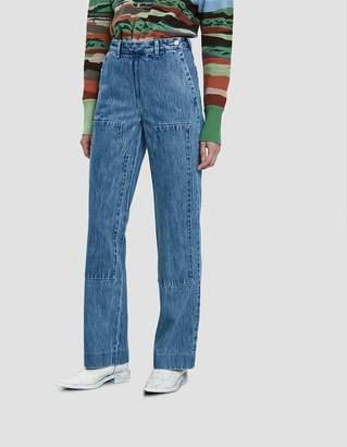 Lorod Denim Carpenter Pants in Indigo Stonewash
