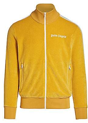 Palm Angels Men's Chenille Track Jacket