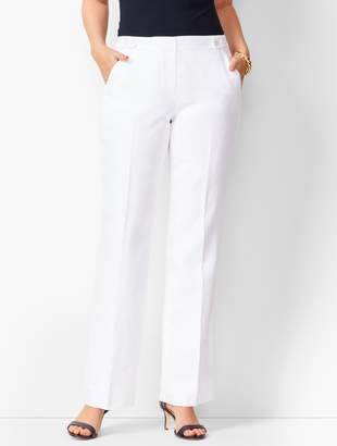 1f18eaeaa1de Talbots Windsor Linen Wide-Leg Pants - Curvy Fit Lined
