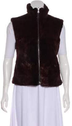 Prada Squirrel Fur Reversible Vest
