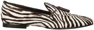 Raparo Zebra Stripe Loafers