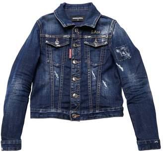 DSQUARED2 Dan Detail Stretch Denim Jacket