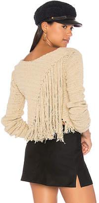 SIR the label Penelope Crochet Sweater