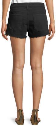 Frame Le Cut Off Tulip-Hem Denim Shorts