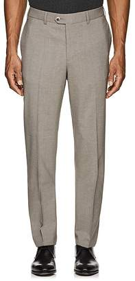 Hiltl Men's Stretch-Wool Flat-Front Trousers