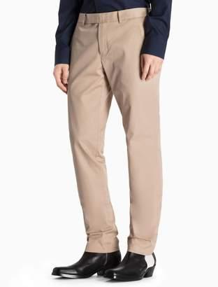 Calvin Klein chino cotton woven pants