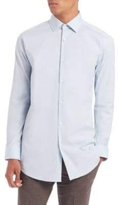 Theory Cotton Button-Down Shirt