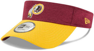New Era Washington Redskins On Field Sideline Visor