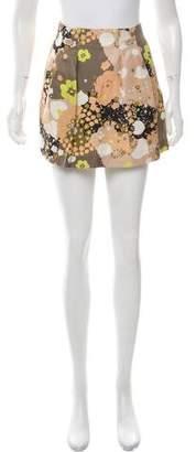 See by Chloe Silk Mini Skirt