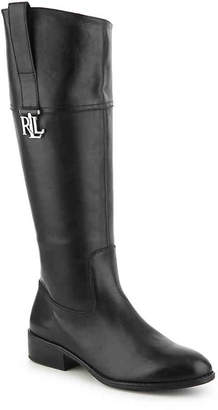 Lauren Ralph Lauren Merrie Wide Calf Riding Boot - Women's