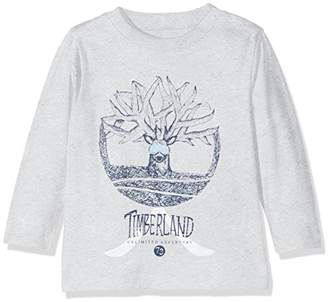 Timberland Baby Boys' Long Sleeve T-Shirt,(Manufacturer Size: 74)