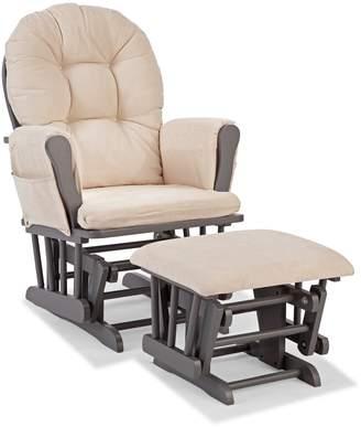 Stork Craft Hoop Custom Glider Chair & Ottoman Set