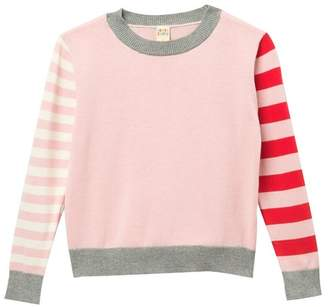 Harper Canyon Stripe Mix Sweater (Toddler, Little Girls, & Big Girls)