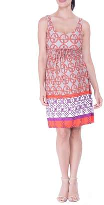 Olian Scoop Neck Maternity Dress