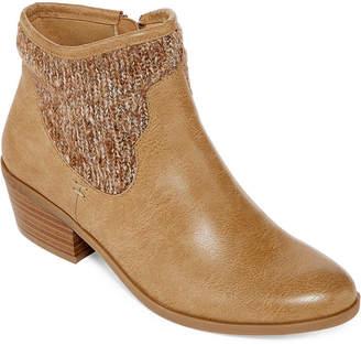 Yuu Pelma Sweater Ankle Booties