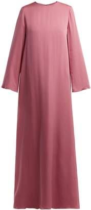 The Row Antoi round-neck silk tunic-dress