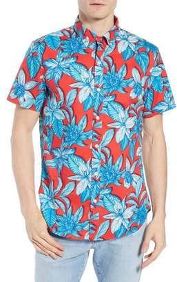 Bonobos Riviera Slim Fit Tropical Print Sport Shirt