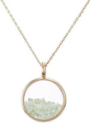Aurelie Bidermann 18Kt Yellow Gold Chivor Necklace with Peridot