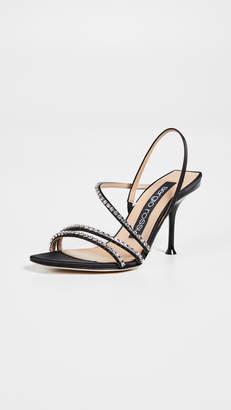 1d1d2c42f Sergio Rossi Milano Diamond Sandals