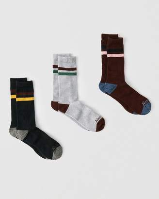 Abercrombie & Fitch 3-Pack Athletic Socks