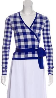 Diane von Furstenberg Silk Wrap Sweater