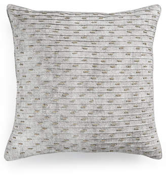 """Hotel Collection Eclipse Beaded Texture 20"""" Square Decorative Pillow, Created for Macy's"""