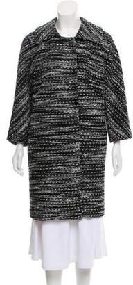Milly Knit Long Coat