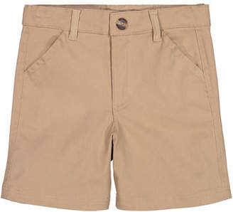 Andy & Evan Cotton Twill Shorts, Size 2-6X