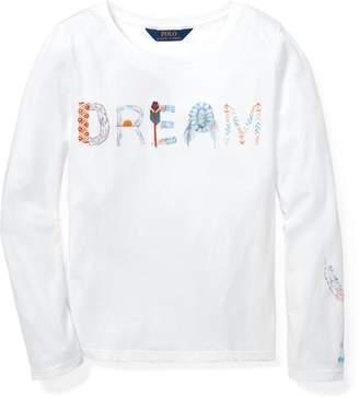 Ralph Lauren Embroidered Graphic T-Shirt